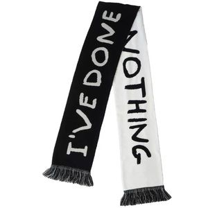 Authentic I'VE DONE EVERYTHING & NOTHING Scarf